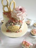 80th birthday cake London