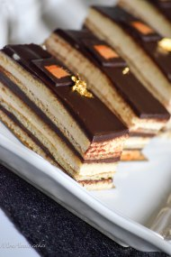 chocolate coffee opera cake 2