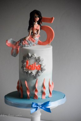 mermaid birthday cake 2
