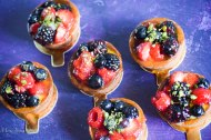 mixed berry fruit tarts