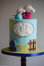Peppa pig birthday cake 5
